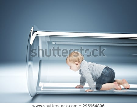baby in test tube stock photo © adrenalina