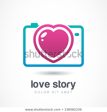 Photographer with Camera and Love Story Photos Stock photo © robuart