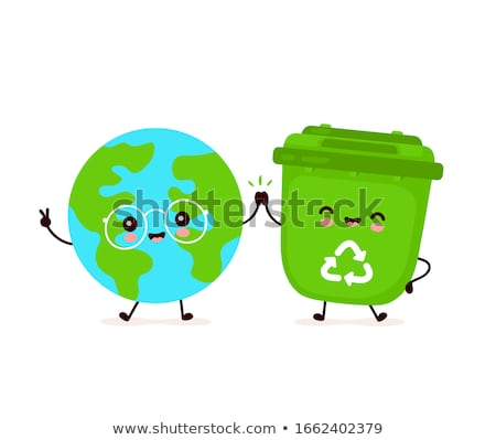 Aarde gezicht wereldbol wereld achtergrond Stockfoto © doomko