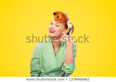 Hívj fel kapcsolat felirat fehér 3d illusztráció töltőtoll Stock fotó © olivier_le_moal
