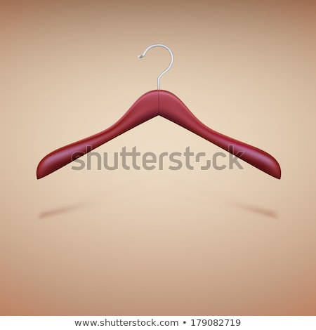 Colorful wire cloth hanger 3D Stock photo © djmilic