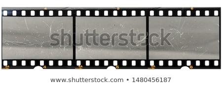 vintage film strip frame reel background design Stock photo © SArts