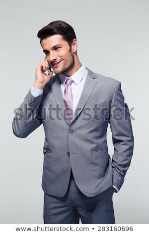 деловой · человек · портрет · красивый · молодые - Сток-фото © feedough