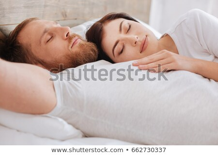 Couple sieste femme homme cheveux maison Photo stock © photography33
