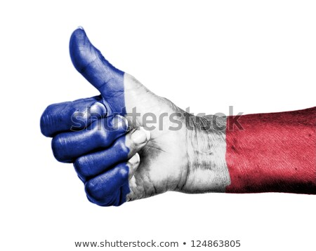 Hope French supporters Stock photo © photography33