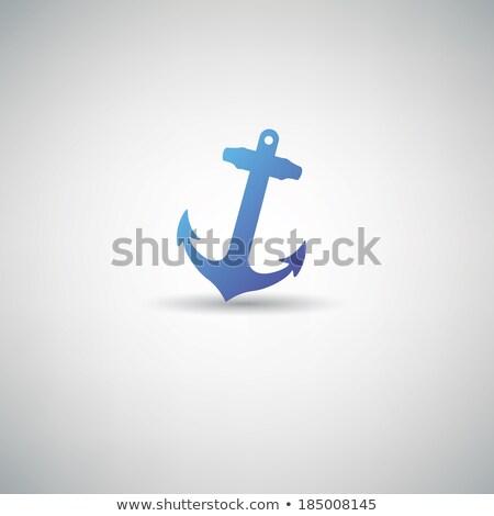 viking · schip · afbeelding · water · ontwerp · kunst - stockfoto © leonido