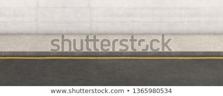 тротуаре исторический Дубровник Хорватия улице Мир Сток-фото © blanaru