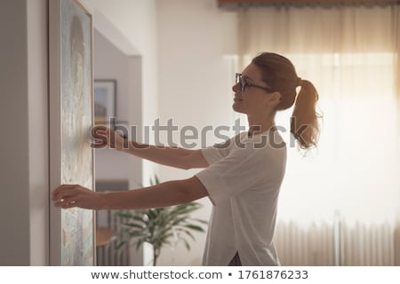 Woman decorating Stock photo © photography33