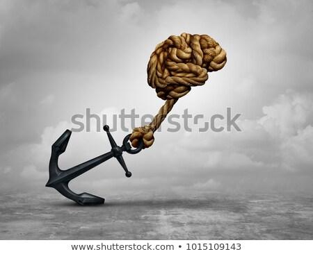Brain Powered Rope Stock photo © idesign
