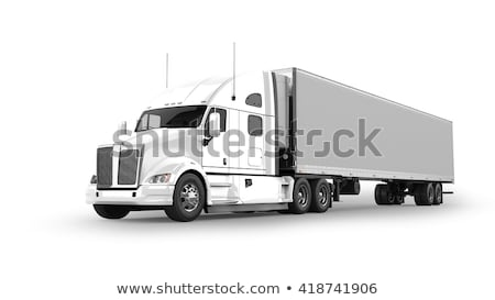 freight truck isolated stock photo © papa1266