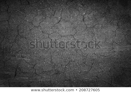 Stock photo: The crack in the asphalt