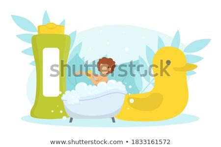 女性 · 黄色 · おもちゃ · カモ · イースター - ストックフォト © photography33