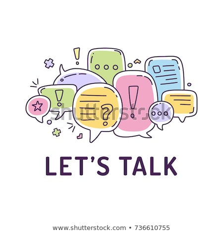 lets talk business stock photo © stockyimages