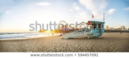 Santa at the seaside Stock photo © antonbrand