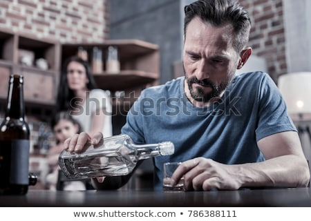 alcohol addiction Stock photo © smithore