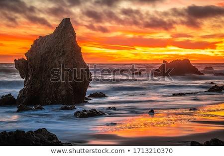 renkli · kum · dağ · plaj · telefon · ahşap - stok fotoğraf © backyardproductions