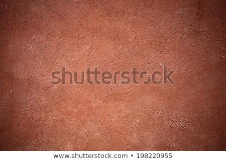 壁 テクスチャ オレンジ 建設 塗料 ストックフォト © Quka