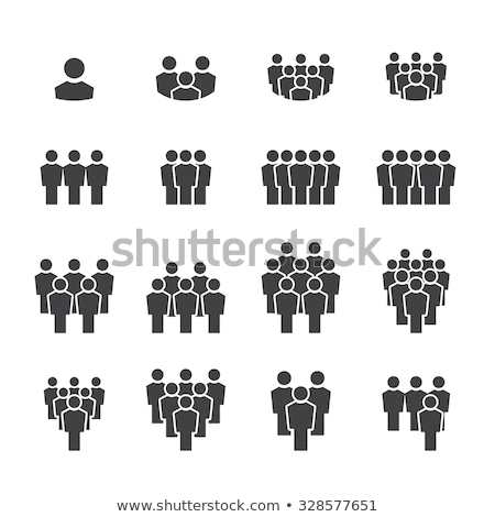 Group Of People Chain Stock photo © Lightsource
