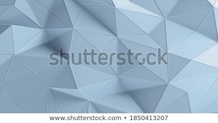 Azul diamante reflexão prato tesouro cristal Foto stock © artizarus
