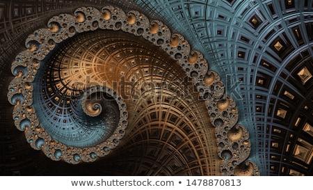 Fraktálok absztrakt sok körök textúra textúrák Stock fotó © kentoh