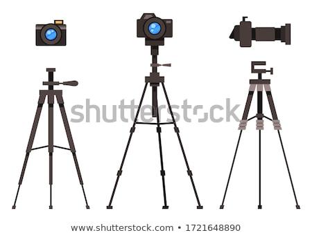 photo camera on tripod Stock photo © kyolshin