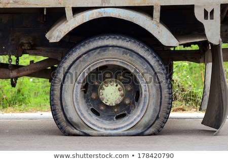 Old destroy truck Stock photo © vwalakte