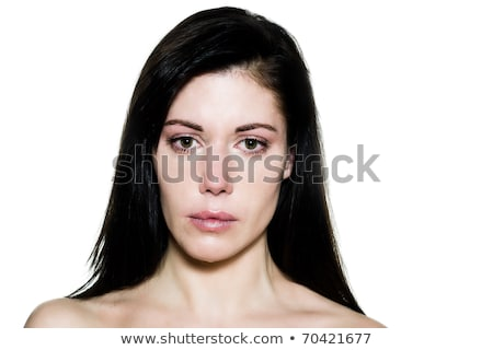 Stock photo: Isolated Sad 30s Woman