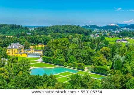 castle hellbrunn near salzburg austria stock photo © frank11