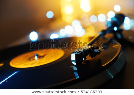 Scratched record Stock photo © claudiodivizia