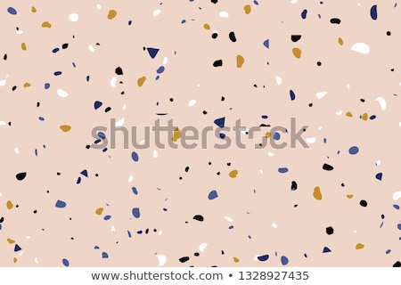 mosaic tile speckled blue wall floor Stock photo © Melvin07