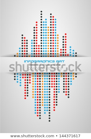 Infographics concept background to display your data Stock photo © DavidArts