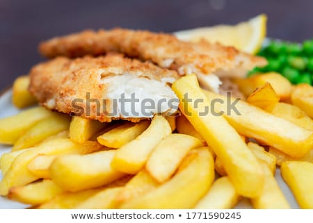 cod and chips stock photo © stevemc