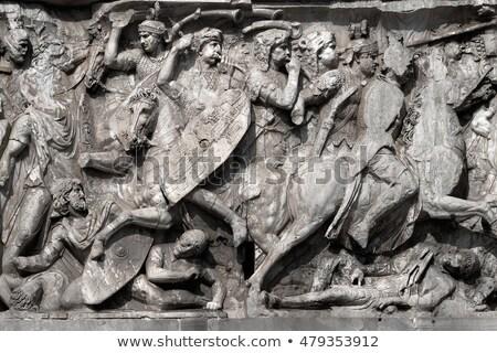 Clásico Roma caballería colorido detallado película Foto stock © araga
