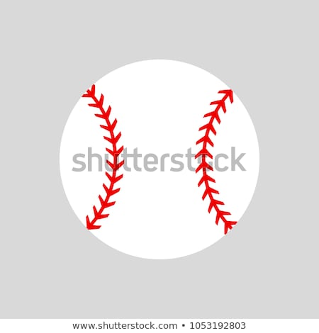 öltések · baseball · makró · lövés · piros · űr - stock fotó © milsiart