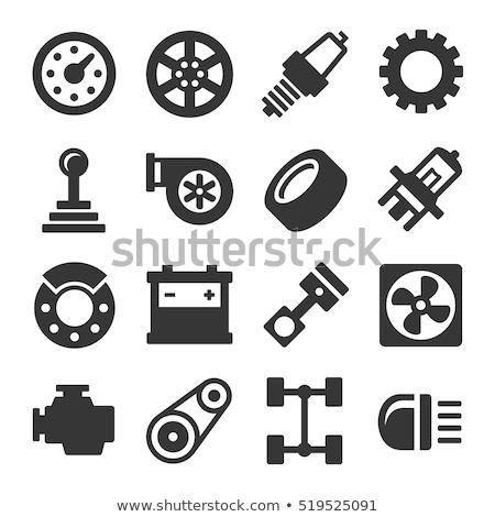 chronométrage · ceinture · icône · générateur · sangle · signe - photo stock © smoki