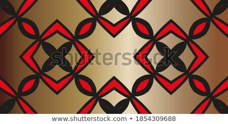 Simetri soyut kâğıt cam şarap kadehi tablo Stok fotoğraf © CaptureLight