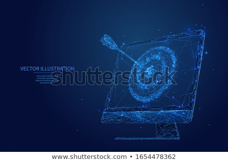 Data Management Concept on Triangle Background. Stock photo © tashatuvango