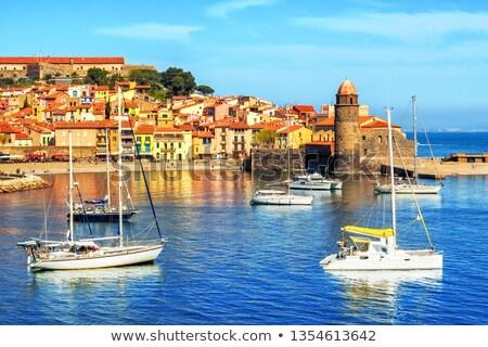 Colors of sunny Collioure  Stock photo © hraska