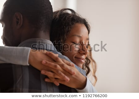 Amorous couple hugging Stock photo © alexandrenunes