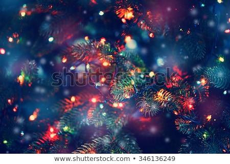 クローズアップ クリスマス 現在 赤 リボン ストックフォト © aladin66