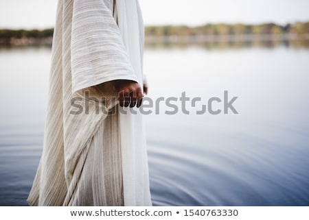 statue of jesus christ in the clouds stock photo © mayboro