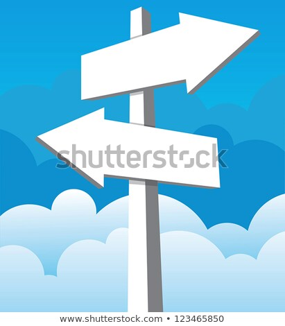 sign post with a large group of directions stock photo © gemenacom