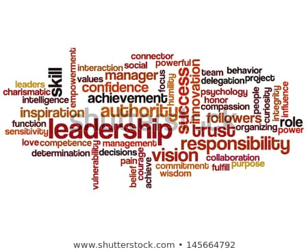 Confidence word cloud Stock photo © tang90246