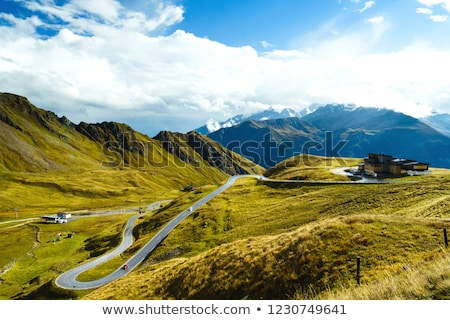 highest peak of austria grossglockner 3798 m stock photo © kasjato