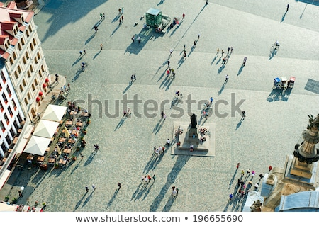 A bird's-eye central Europe. Stock photo © g215