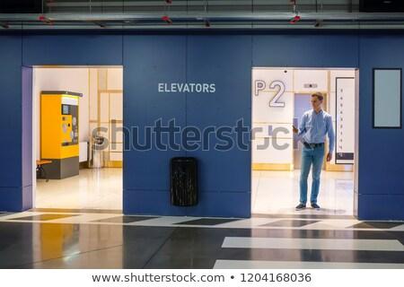 ビジネスマン 立って 地下 駐車場 肖像 沈痛 ストックフォト © deandrobot