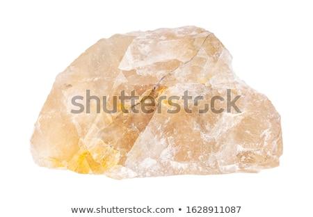 fluorite mineral isolated Stock photo © jonnysek