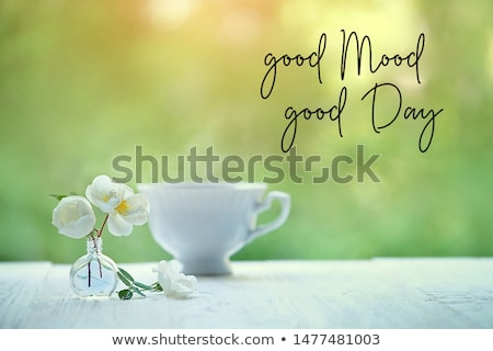 It s a good day phrase. Stock photo © mcherevan