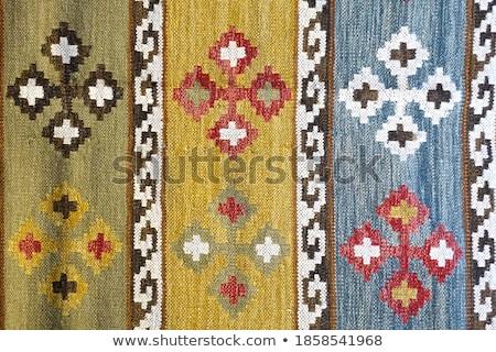 Sammlung unterschiedlich traditionellen Industrie Laden Teppich Stock foto © Jasminko