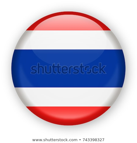 Thailand vlag knop textuur abstract Blauw Stockfoto © ojal